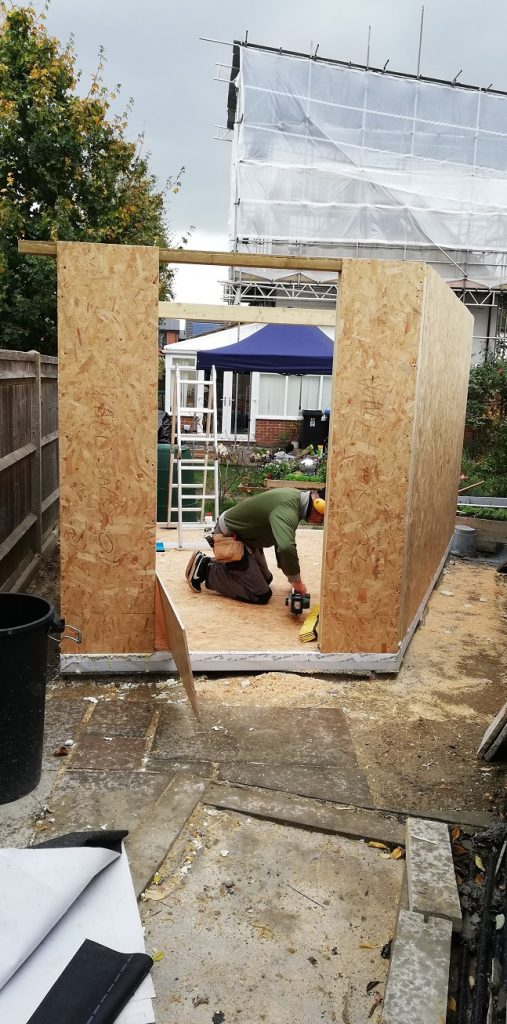 Garden room construction